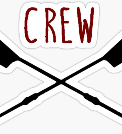 Women's Rowing Crew Sticker
