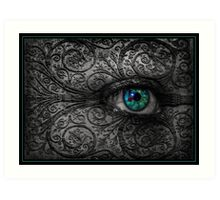 Visions In The Dark Art Print