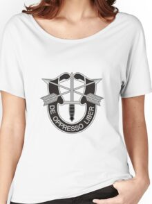 Special Forces - insignia (United States Army) Women's Relaxed Fit T-Shirt