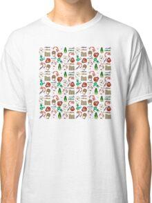 Japanese folklore pattern Classic T-Shirt