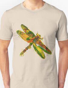 Beautifull hand drawn dragonfly Unisex T-Shirt