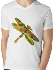 Beautifull hand drawn dragonfly Mens V-Neck T-Shirt