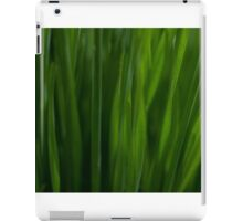abstract daffodil leaves iPad Case/Skin