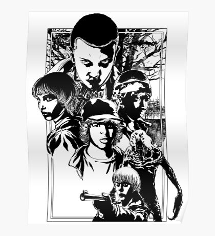 Stand By Will | Black and White Poster