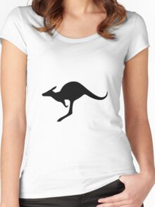Australian Army Aviation - Roundel Women's Fitted Scoop T-Shirt