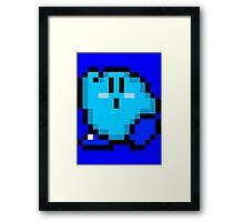 Kirby (Blue) Framed Print