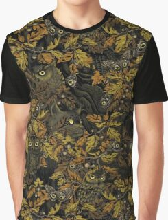 Fit In (burnt sienna) Graphic T-Shirt