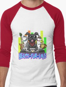 Beats - Fur - Love Men's Baseball ¾ T-Shirt