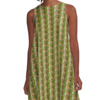 Curly Ferly  A-Line Dress