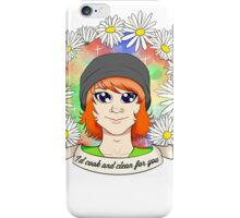 "REESE ALBRECHT: ""I'd cook and clean for you"" iPhone Case/Skin"