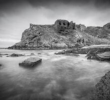 Findlater Castle by Roddy Atkinson