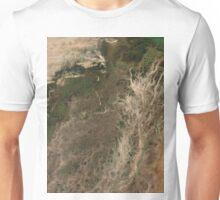 Niger River Inland Delta Mali Africa Satellite Image Unisex T-Shirt