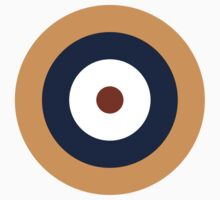 Royal Air Force - Historical Roundel Type A.1 1937 - 1939 Kids Tee
