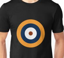 Royal Air Force - Historical Roundel Type A.1 1937 - 1939 Unisex T-Shirt