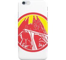 Sagrada Família Church Retro iPhone Case/Skin
