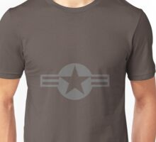 United States Air Force - Roundel (low vis) Unisex T-Shirt