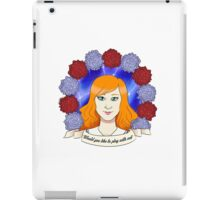 """WILHELMINA IVEY: """"Would you like to play with me?"""" iPad Case/Skin"""
