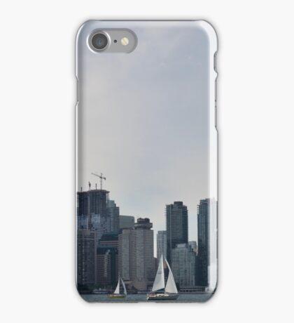 Toronto skyline, panorama iPhone Case/Skin