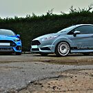 The Focus RS and Fiesta ST200 by Vicki Spindler (VHS Photography)