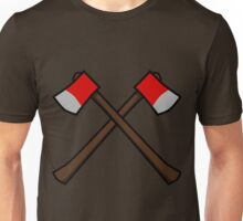 Crossed Axes Unisex T-Shirt