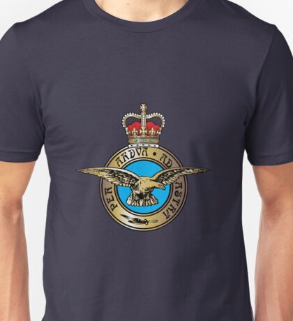 Royal Air Force Badge Unisex T-Shirt
