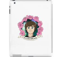"""GREG PETERSON: """"Be a patient little pastry"""" iPad Case/Skin"""