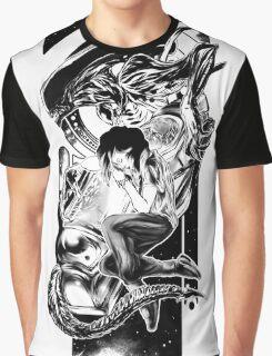 Goodnight Newt   Black and White Graphic T-Shirt