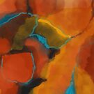 Autumn Abstract by susan stone