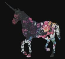 Floral Unicorn 3 Kids Clothes