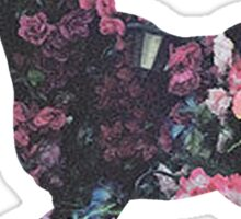 Floral Unicorn 3 Sticker