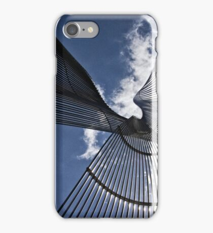 Metal Sculpture in Canberra/ACT/Australia iPhone Case/Skin