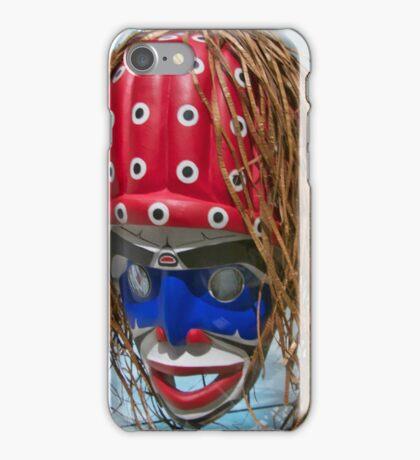 Mask In Polka Dot iPhone Case/Skin