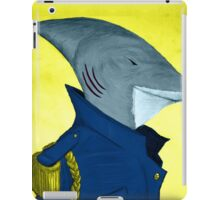 Admiral Sharkington Portrait iPad Case/Skin