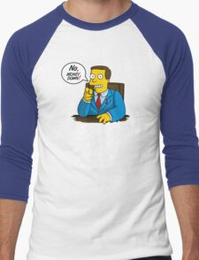 Better Call Hutz Men's Baseball ¾ T-Shirt