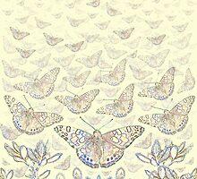 A New Awakening - cream by Lisa Torma