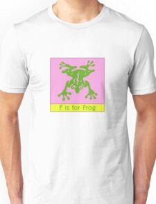 Frog Animal Alphabet Unisex T-Shirt