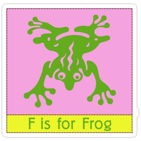 Frog Animal Alphabet by Zehda