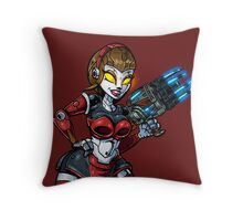 Death to Squishies Throw Pillow