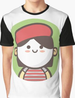 Mini Characters - Mime Girl Graphic T-Shirt