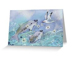 Dolphin Gifts Greeting Card