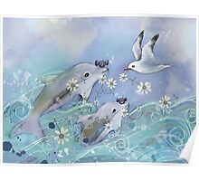 Dolphin Gifts Poster