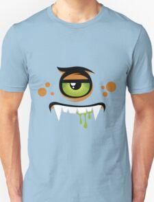 Cartoon expression monster Unisex T-Shirt