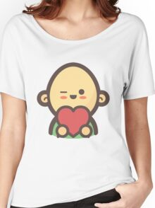 Mini Characters - In-Love Man Women's Relaxed Fit T-Shirt