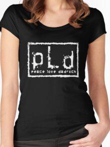 pLd T-Shirt Women's Fitted Scoop T-Shirt