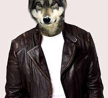 Wolf in Leather by SpaceDonutInc