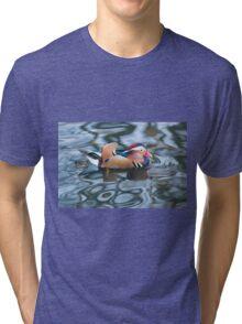Mandarin Duck Tri-blend T-Shirt