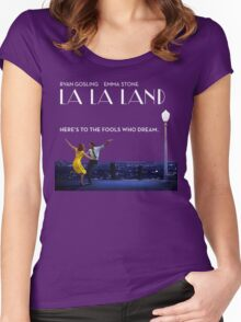La La Land Women's Fitted Scoop T-Shirt