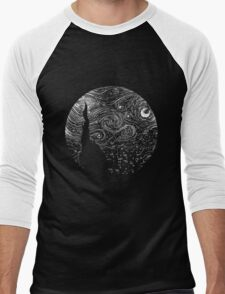 Starry Night Men's Baseball ¾ T-Shirt