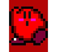 Kirby (Red) Photographic Print