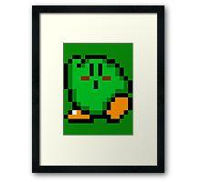 Kirby (Green) Framed Print